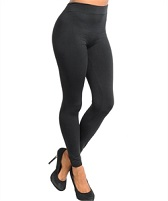 Black Thick Winter Leggings