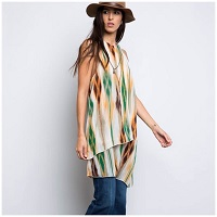 Sage Layered Tank Tunic